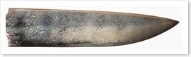 Bild 11 Etsat knivblad, student. Göt A