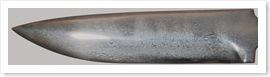 Bild 12 Etsat knivblad, student. Göt A